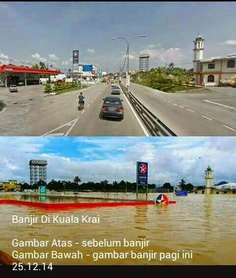 Kisah Mangsa Banjir Di Kuala Krai Kelantan