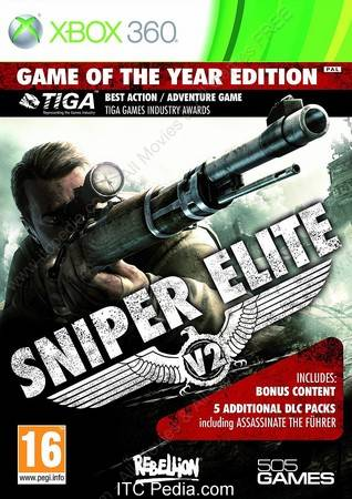 Sniper Elite V2 GOTY XBOX360 - iNSOMNi