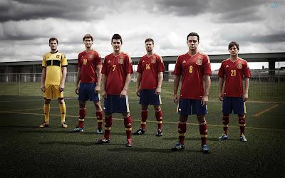 Spain National Football Team Euro 2012 Finals HD Desktop Wallpaper