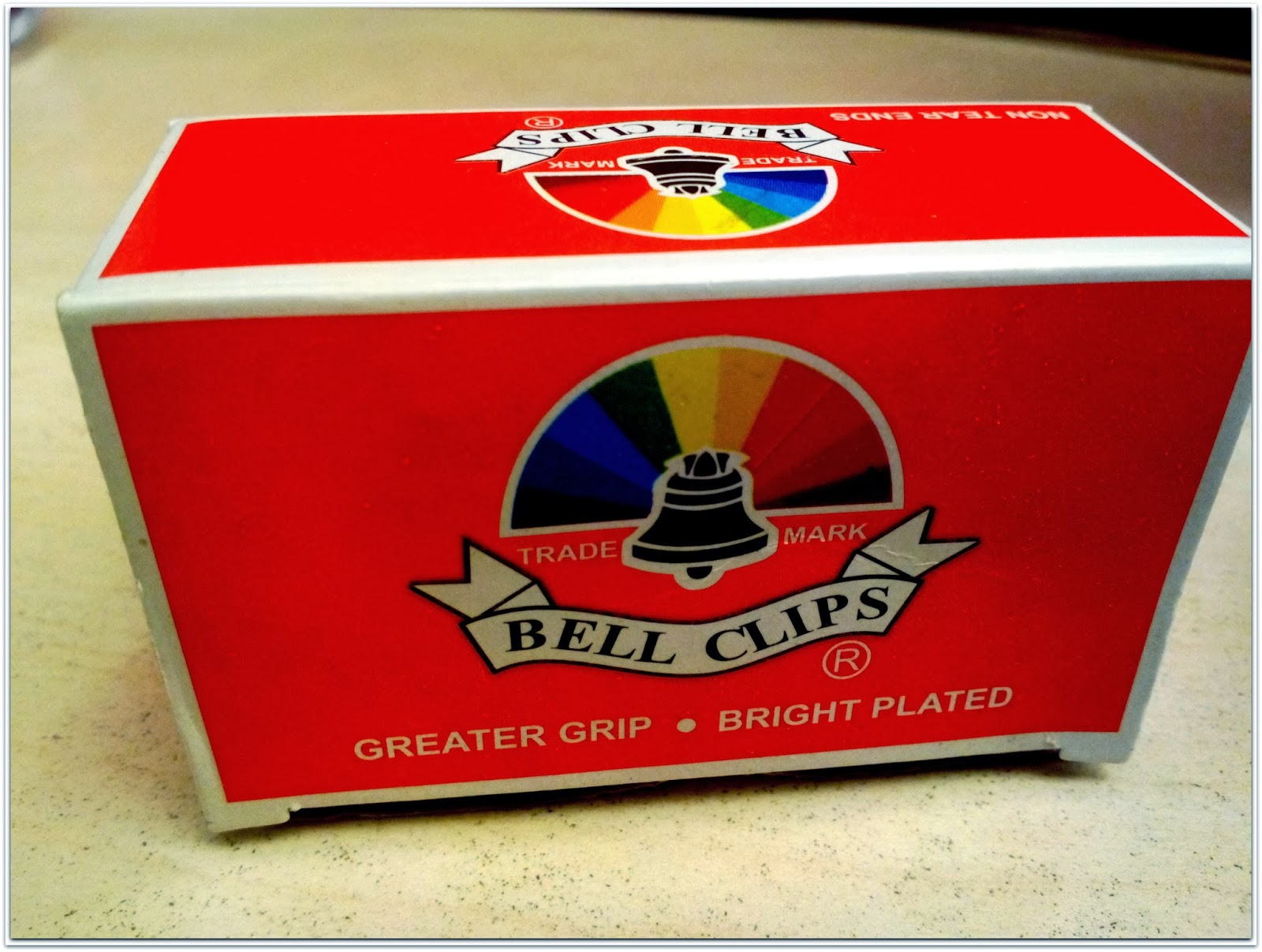 Bell Paper Clips