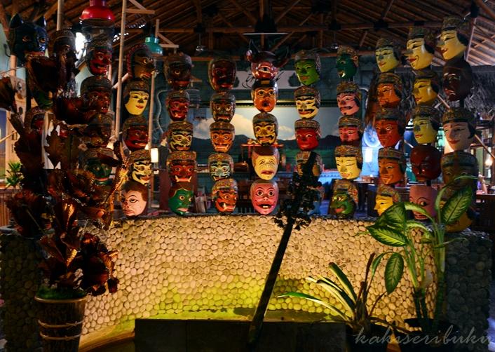 Ragam Raut Topeng, ikon Inggil Museum Resto.