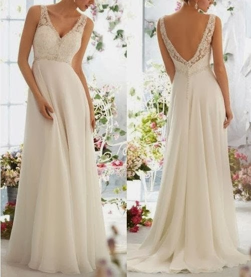 Elegant and charming Bridal gown Beading Formal evening prom dress Sexy V-neck…