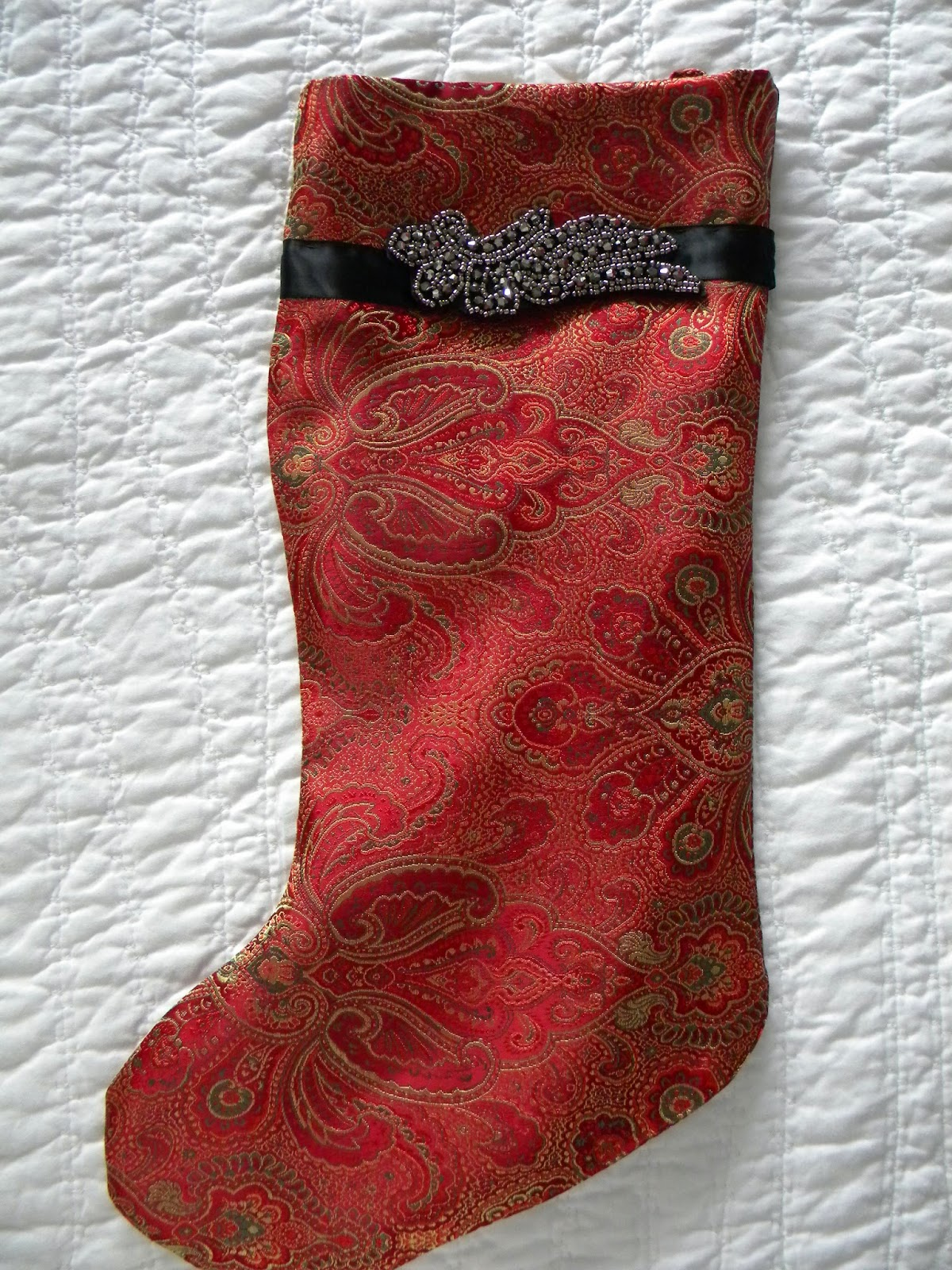 Daze Of Grace Christmas Stocking Sale