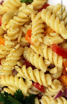 Sweet Peppers Pasta Salad