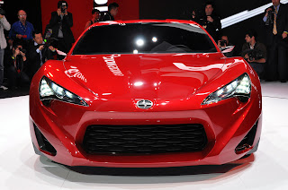 The Hot Red Scion FR-S