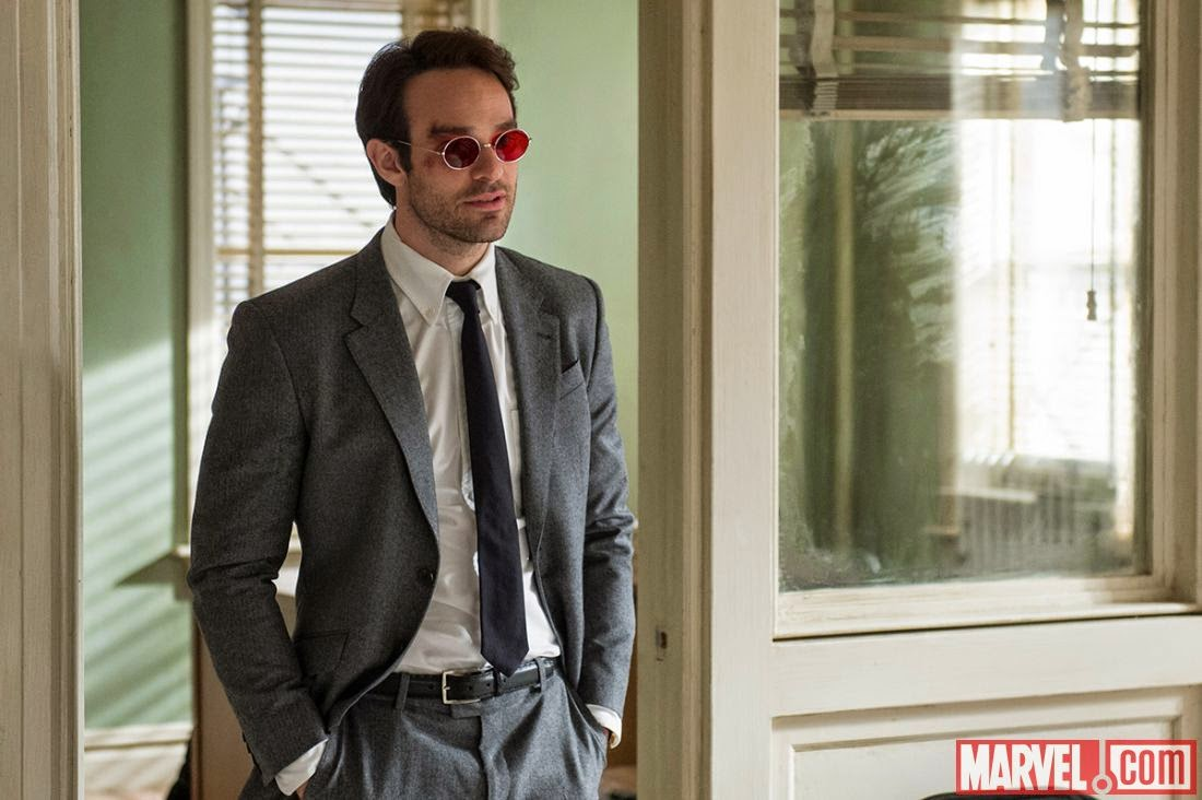 Marvel's Daredevil First Look - Charlie Cox as Matt Murdock