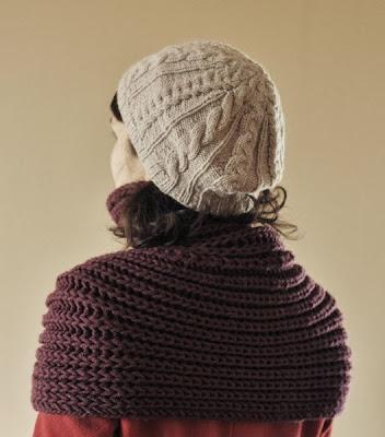 Szary beret