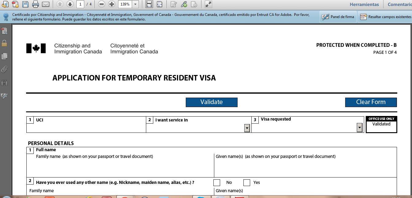 Trámites para la Visa Canadiense   Mis Huidas por México