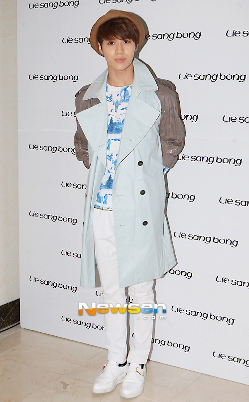 Shinee Taemin Seoul Fashion Week 130327