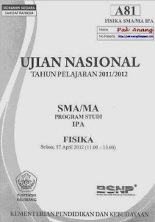 Pembahasan Soal Un Fisika Sma 2012