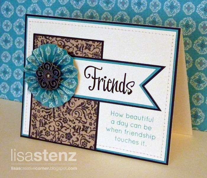 How To Make Friendship Cards Part - 19: Make It From Your Heart Friendship Card