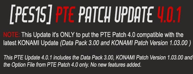 Download PTE Patch Update 4.0.1