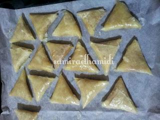 حلويات وشهيوات رمضان المغربية : بريوات اللوز مقلي بطريقة رائعة ولذيذة