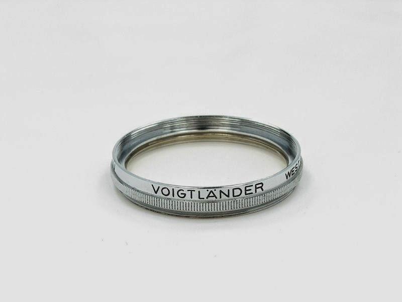 350* ORIGINAL VOIGTLANDER 317/41 AR UV 40.5mm FILTER*