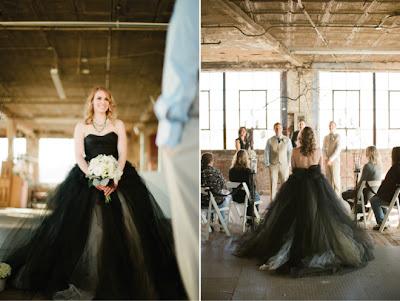 bodas curiosas novia vestida de negro
