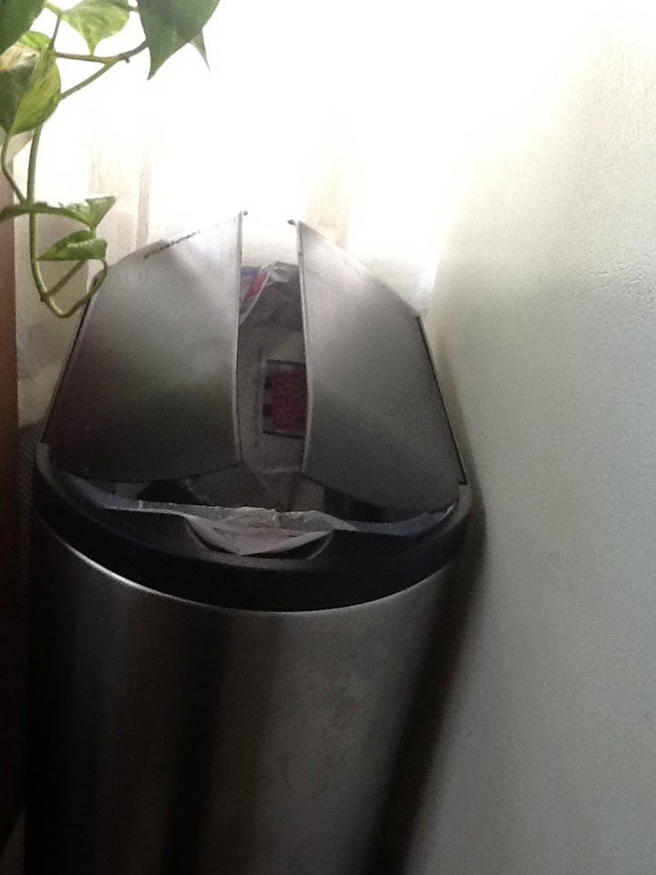William The Dog Trainer A Virtually Dog Proof Kitchen Trash Can