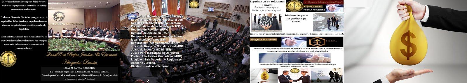 AYAX  M  LANDA Abogado ESPECIALISTA EN JUSTICIA ELECTORAL