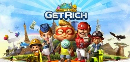 Line Let's Get Rich, game monopoli