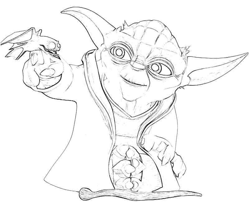 printable yoda yoda look_coloring pages 4 - Yoda Coloring Pages
