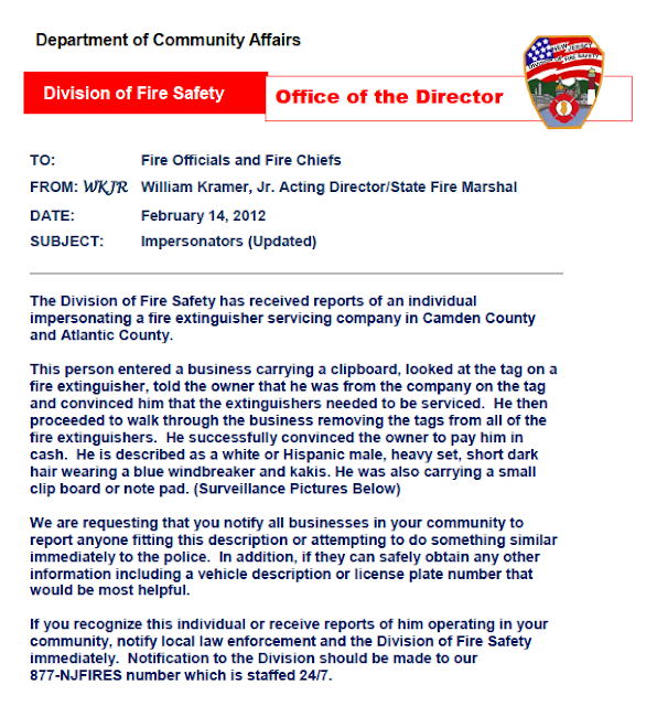 Cherry hill news information fire inspector for Cherry hill motor vehicle inspection