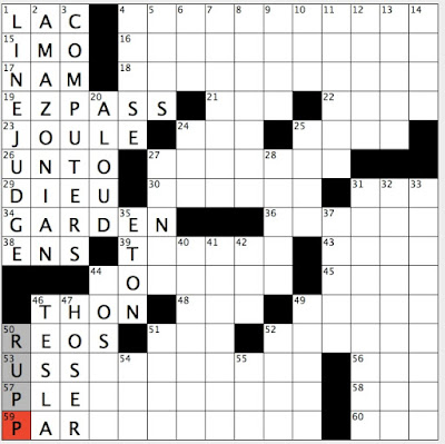 Rex Parker Does the NYT Crossword Puzzle: Financial ...