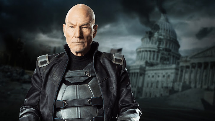 patrick stewart as professor x in x men days of future past 2014