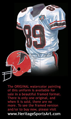 Atlanta Falcons 1994 uniform