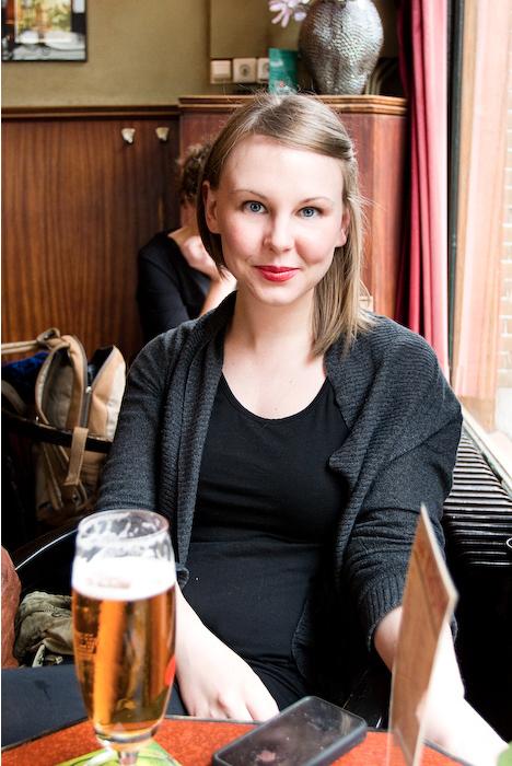 photo of Chelsea Watson in Amsterdam