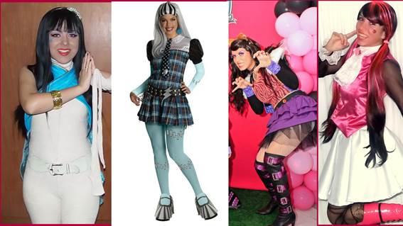 Apresentação da peça 'Monster High' agita o Bangu Shopping