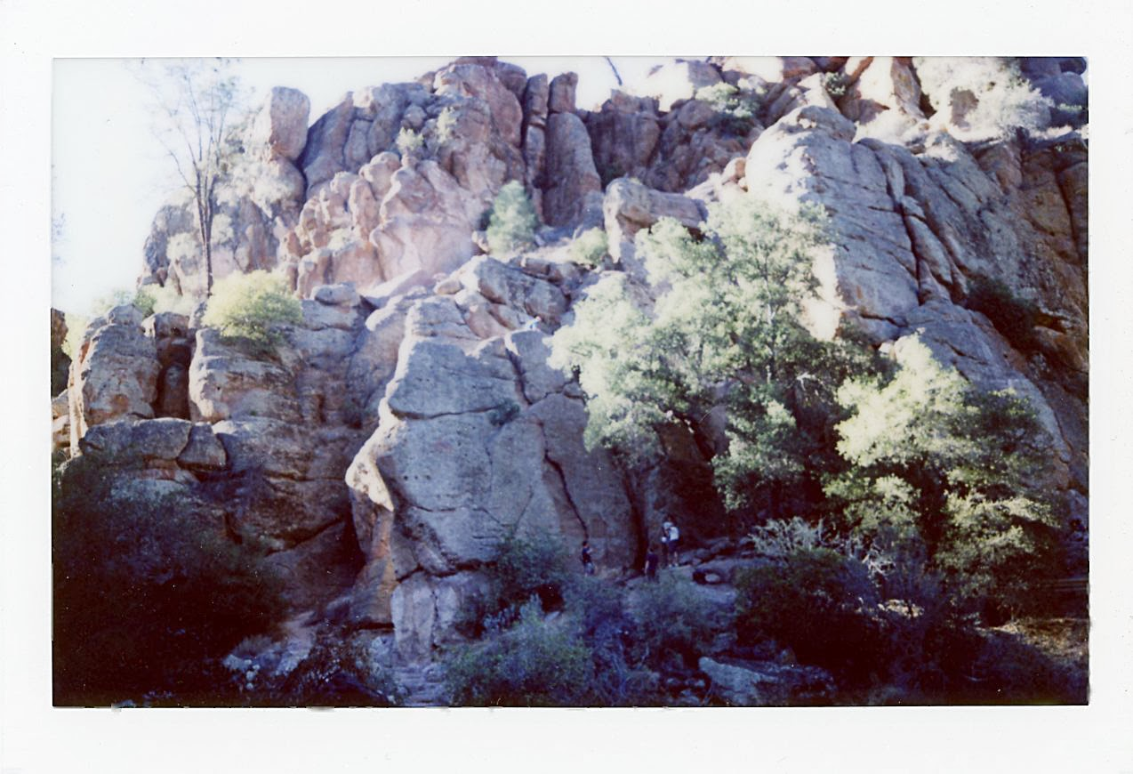 Instax wide Pinnacles National Monument