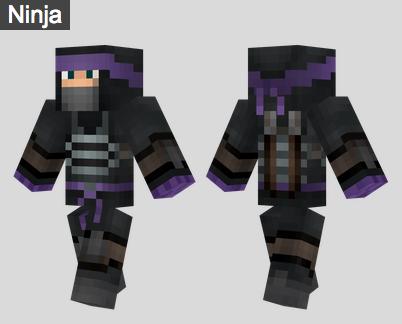 2. Ninja Skin