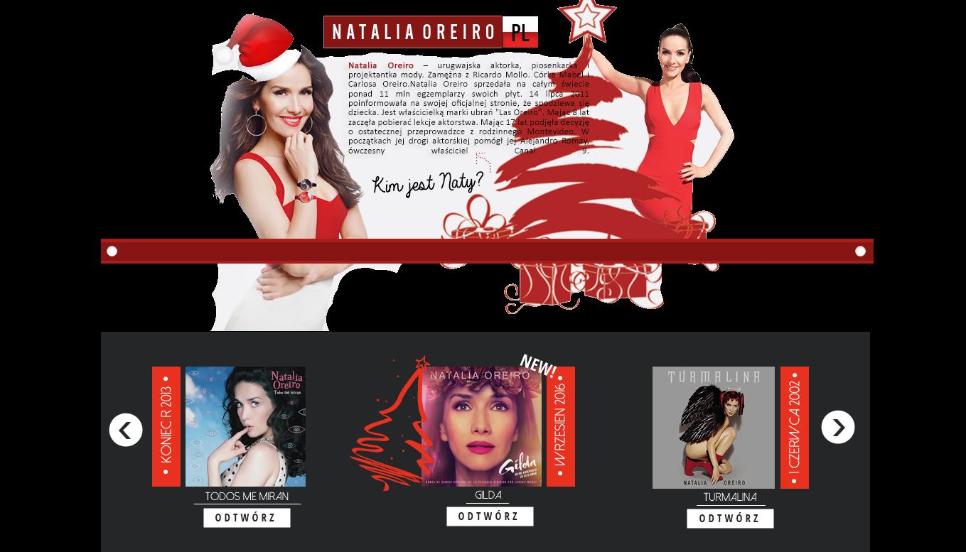 • NataliaOreiro-pl » Twoje polskie źródło informacji o Natalii Oreiro.
