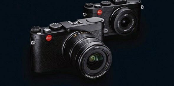 Fotografia della Leica X Vario Mini M (in primo piano)