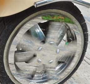 Modifikasi vespa lx150ie racing motor original kini til baru dengan