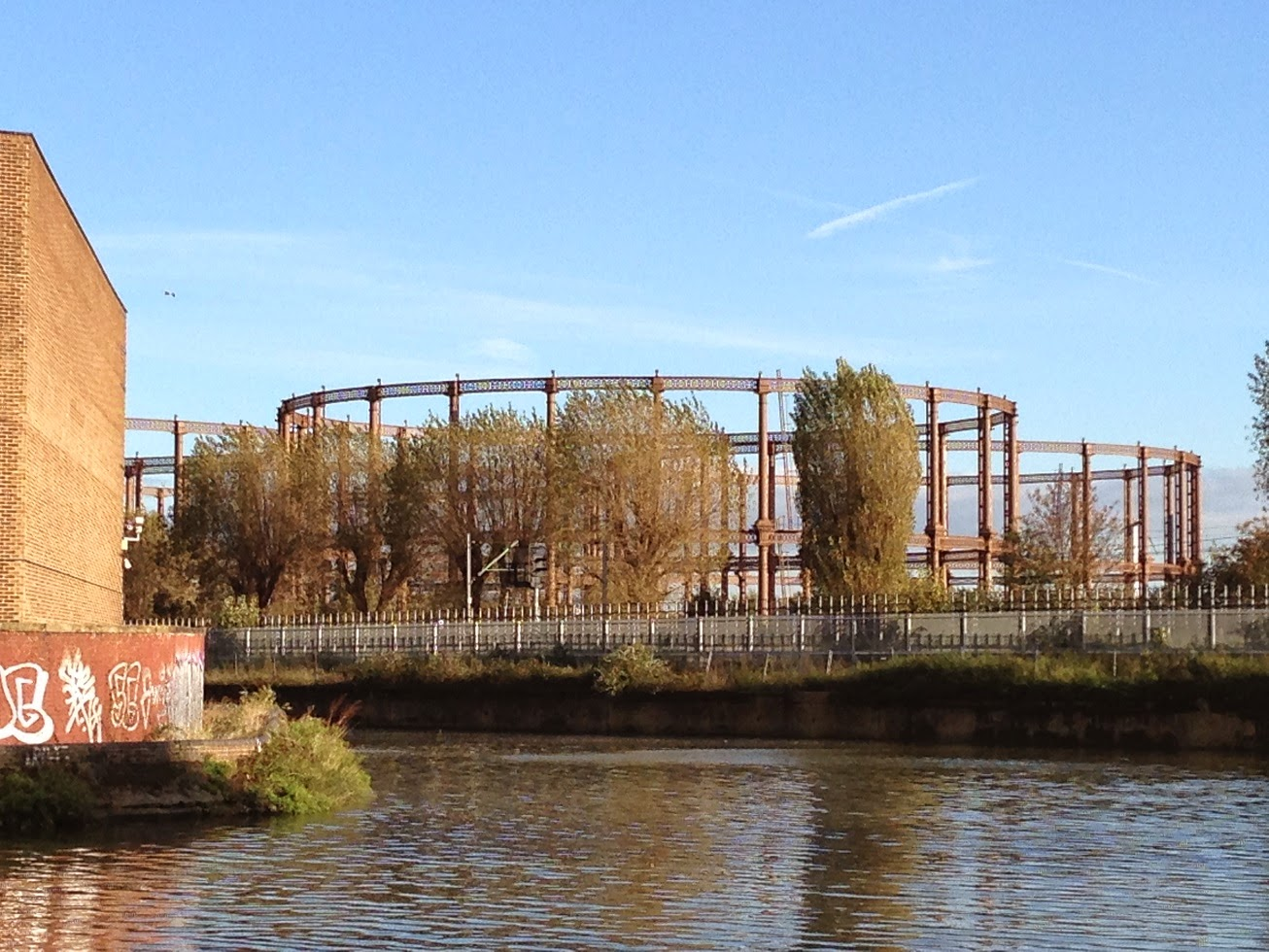 Former gas works, Bow, London