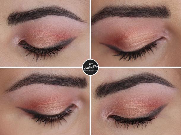 mac expensive pink nyx cupcake star struck eyeshadow makeup look