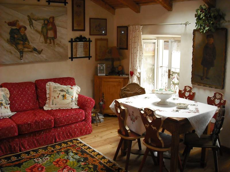 Bottega del decoro variazione su arredo casa di montagna spostato i mobili - Casa montagna arredo ...