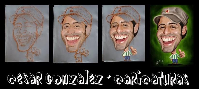 Cesar Gonzalez - Caricaturas
