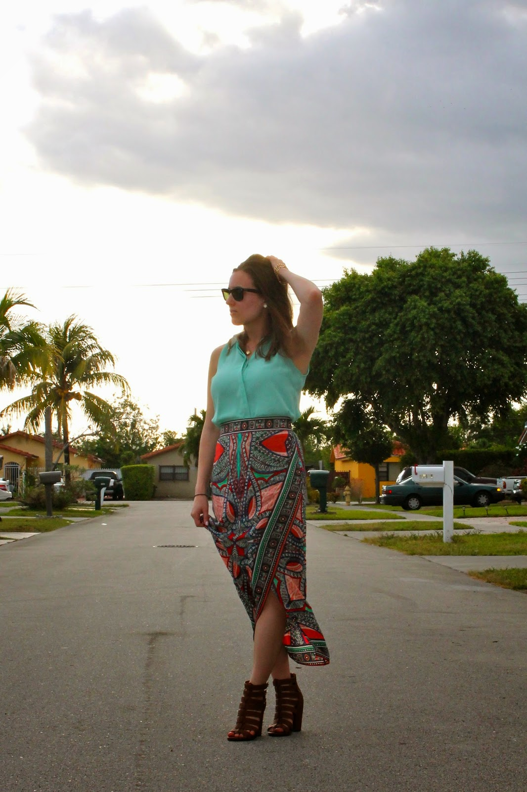 Franchesca's Collection, Anthropologie, Steve Madden, Ray-Ban, style blog, fashion blog, fashion blogger, Miami fashion, look book, outfit ideas