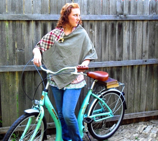 fall poncho sewing pattern