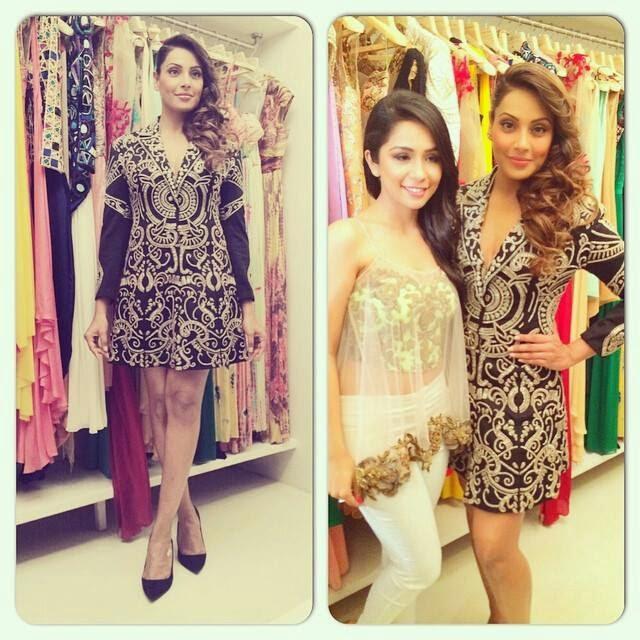 Bipasha Basu at Sonaakshiraaj Store Launch event