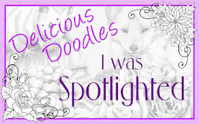 I was SPOTLIGHTED @ Delicious Doodles.