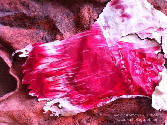 Martice Smith II; Day 18 of 31 (Printmaking Unleashed): Acrylic Skin