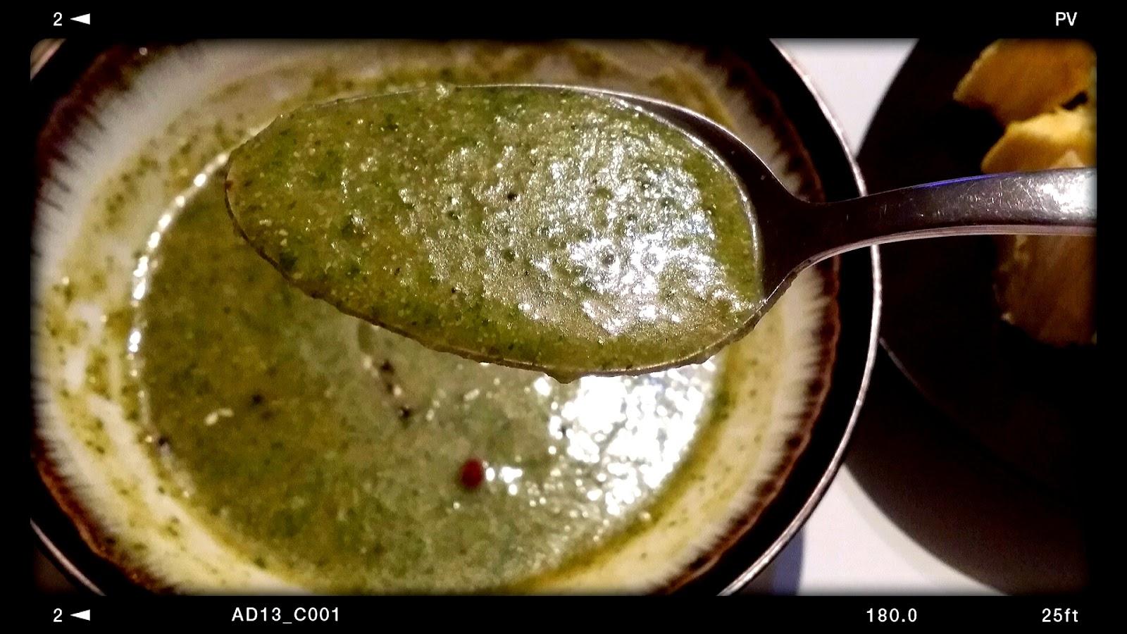 Vegan green soup