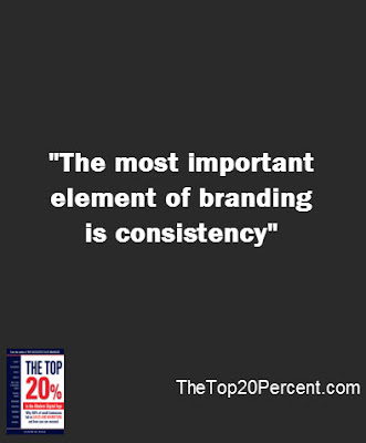 The most important element of branding is consistency
