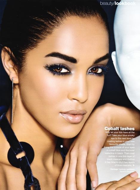 major model women laura scott for glamour magazine capetown. Black Bedroom Furniture Sets. Home Design Ideas