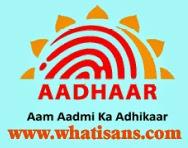 What is the password of e-aadhaar card?