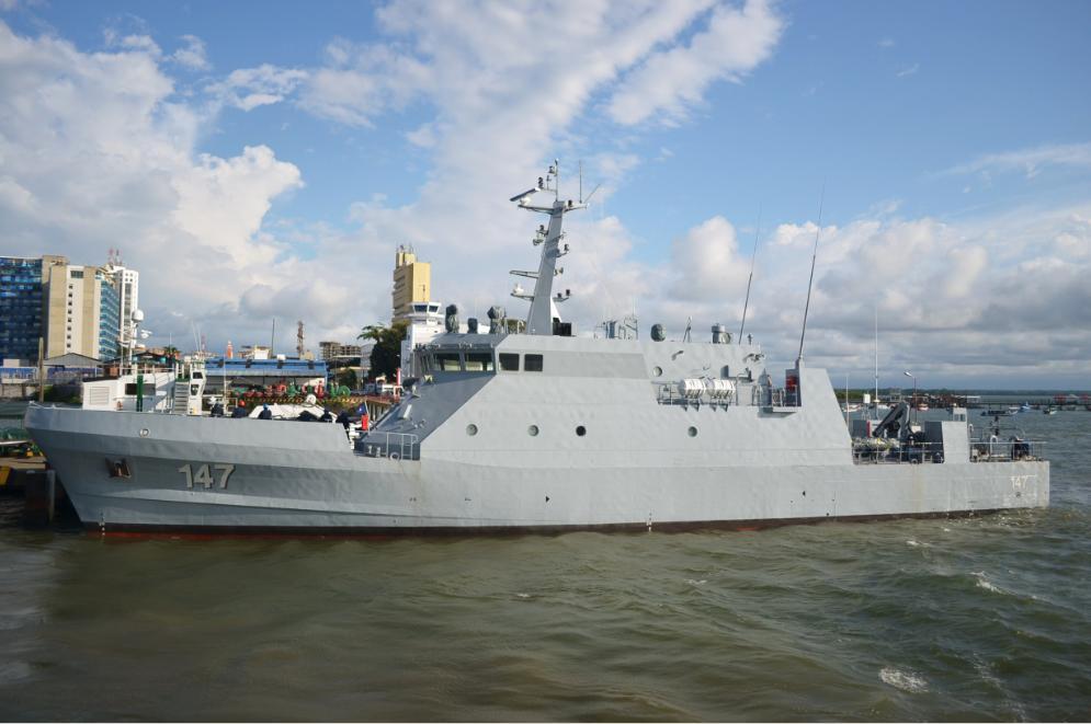 ARC Punta Soldado, patrullero CPV-46 de la Armada de Colombia.