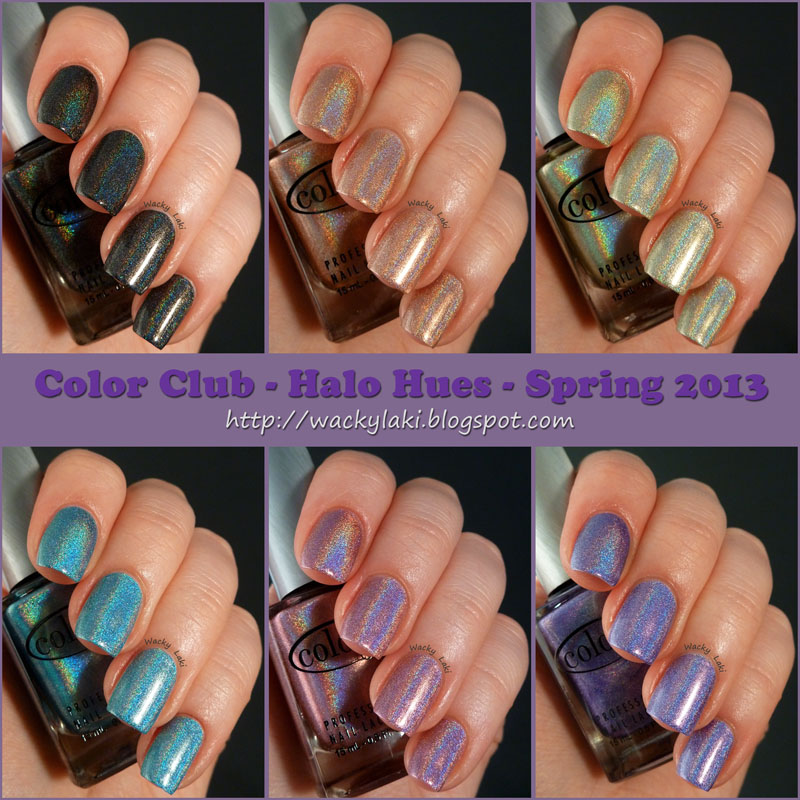 Wacky Laki: Color Club Halo Hues - Spring 2013