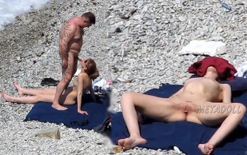 BeachHunters Sex 16871-16992 (Amateur Sex on a Nudist Beach)